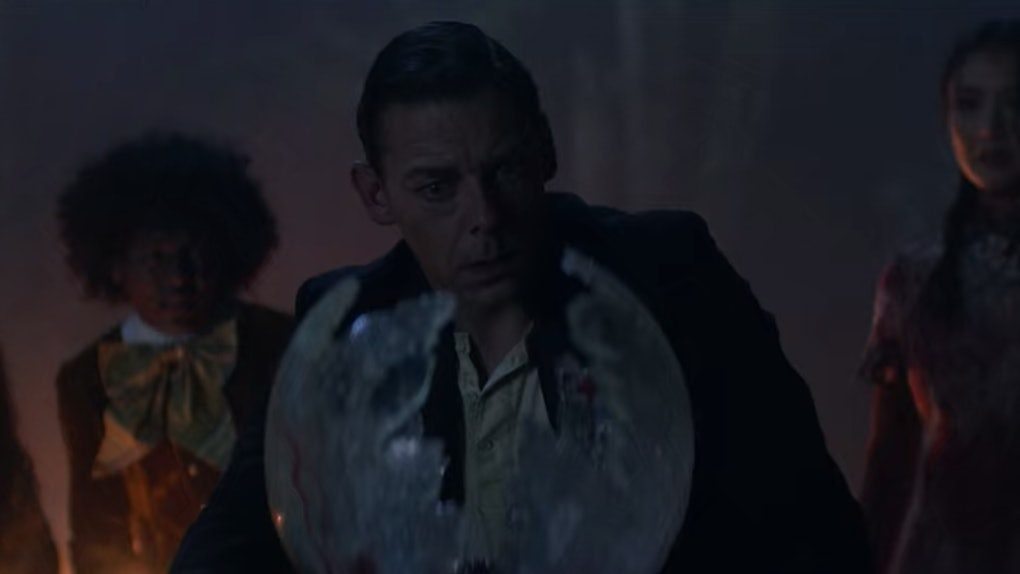 Father Blackwood's egg in 'Chilling Adventures Of Sabrina'