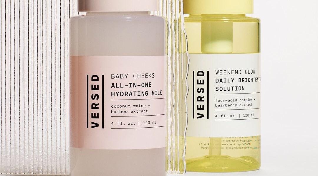 Versed's new Baby Cheeks toner adheres to the minimalistic skincare trend