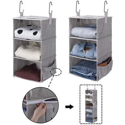 StorageWorks Hanging Closet Organizer (2-Pack)