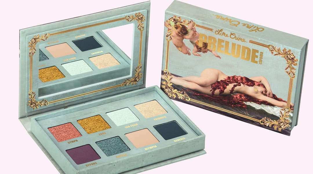 Lime Crime's new Prelude makeup collection pays tribute to Venus