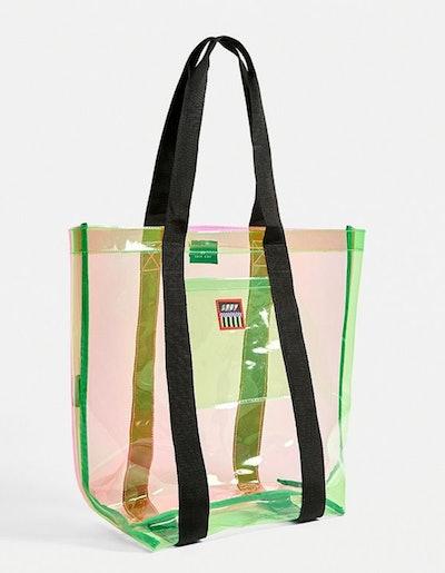 Lazy Oaf Transparent Tote Bag