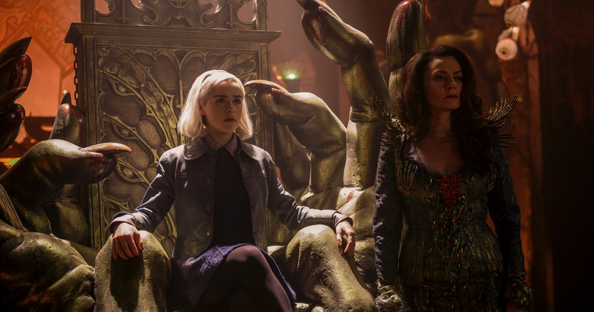 'Chilling Adventures of Sabrina' Season 4 release date, cast, trailer for witchy Netflix drama