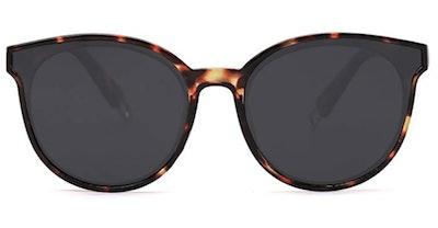 SOJOS Fashion Round Sunglasses