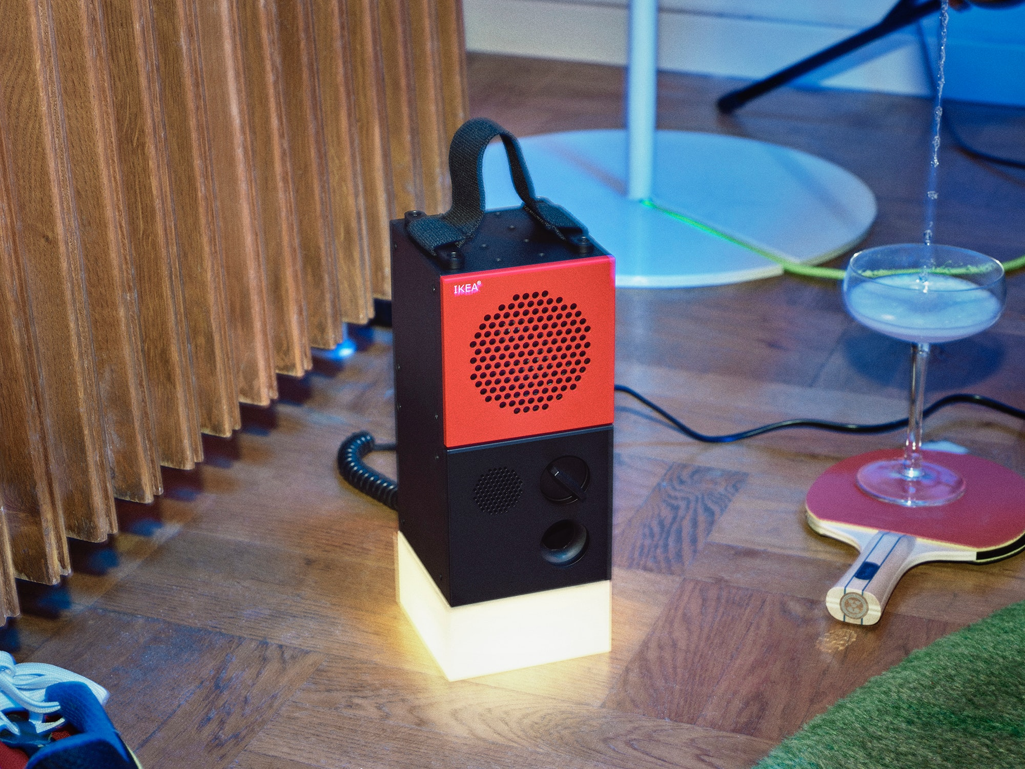 IKEA and Teenage Engineering's party-focused collection of tech and homeware is now available