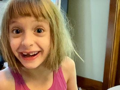 Freya reacting to her birthday videos