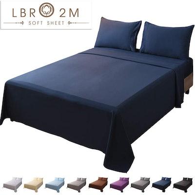 LBRO2M Bed Sheets (4-Piece Set)