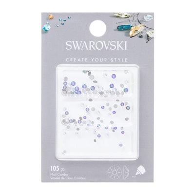 Swarovski™ Create Your Style™ Xirius Nail Combo, Shiny Crystals