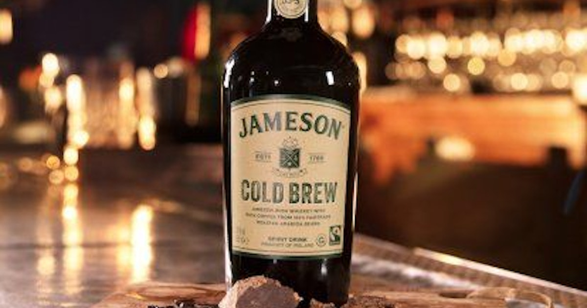 Jameson Cold Brew Whiskey Is Coming Soon & It Sounds *So* Good