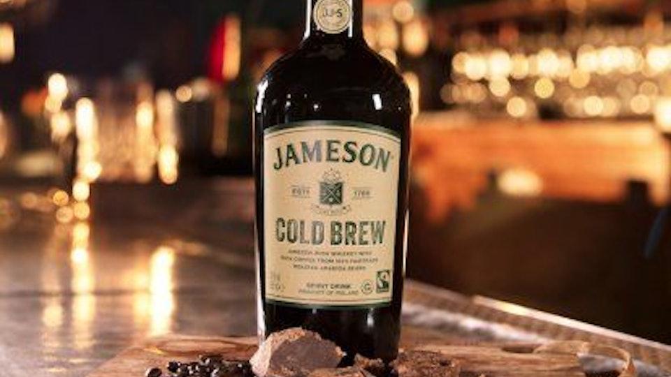 jameson cold brew whiskey