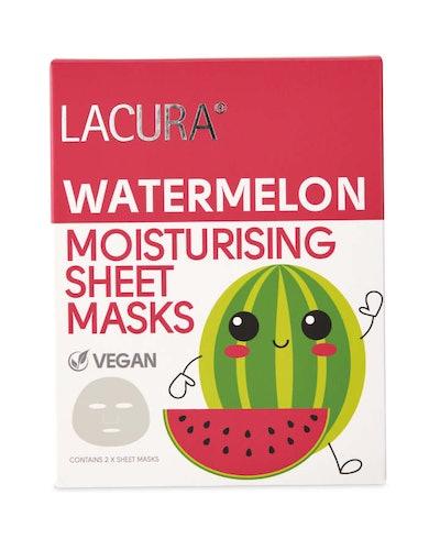 Watermelon Natural Vegan Sheet Masks