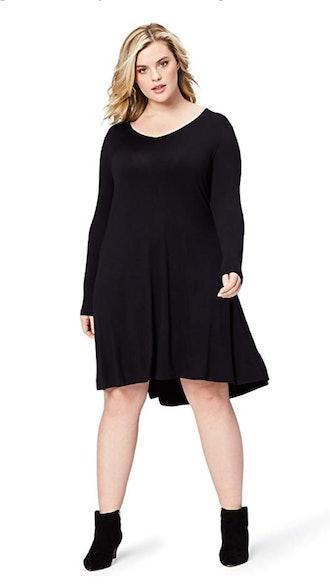Daily Ritual Plus Size V Neck Dress