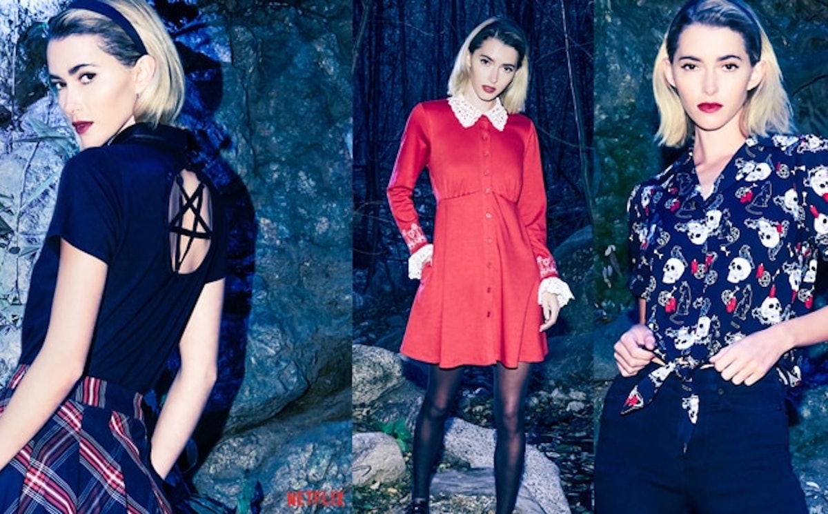 The 'Chilling Adventures Of Sabrina' Hot Topic Collection is inspired by your fave witch.