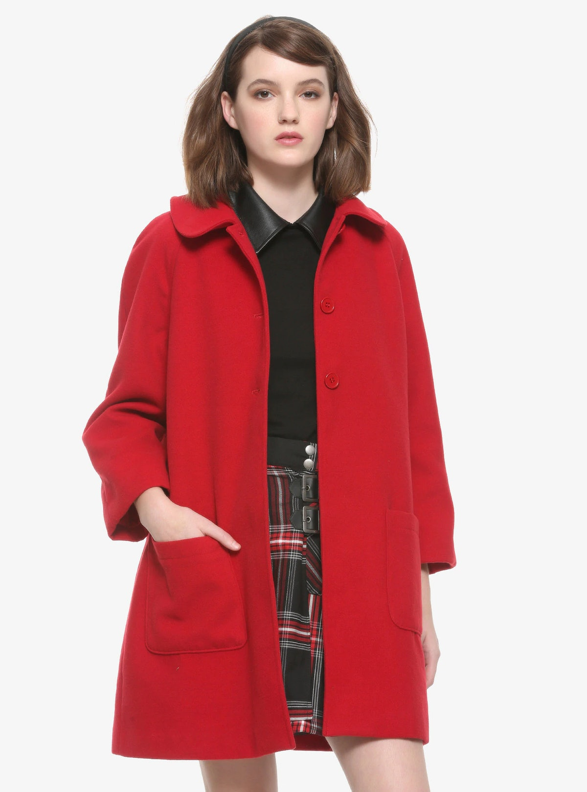 Chilling Adventures Of Sabrina Girls Red Coat