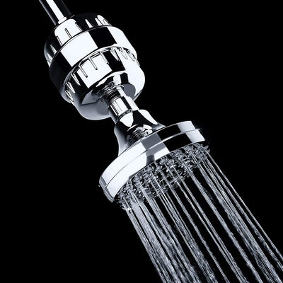 AquaBliss High Output Universal Shower Filter