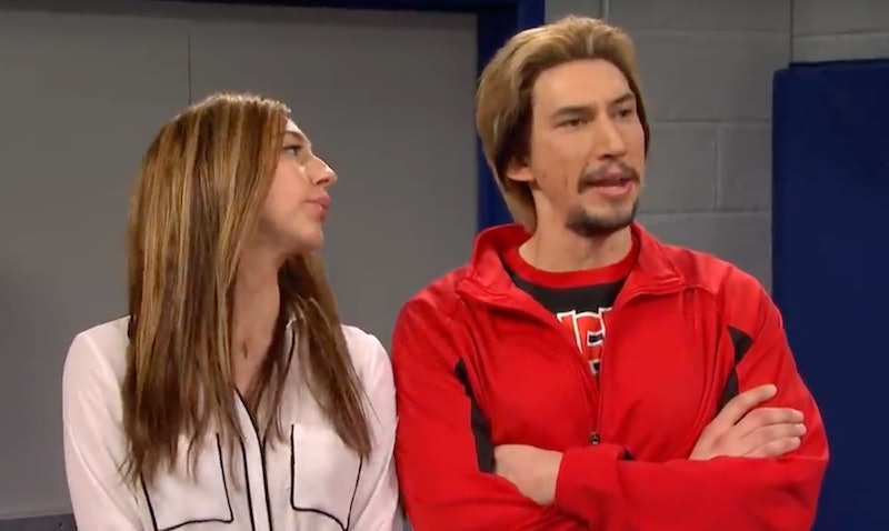 Adam Driver's 'Cheer' Parody On 'SNL' Would Make Navarro Proud