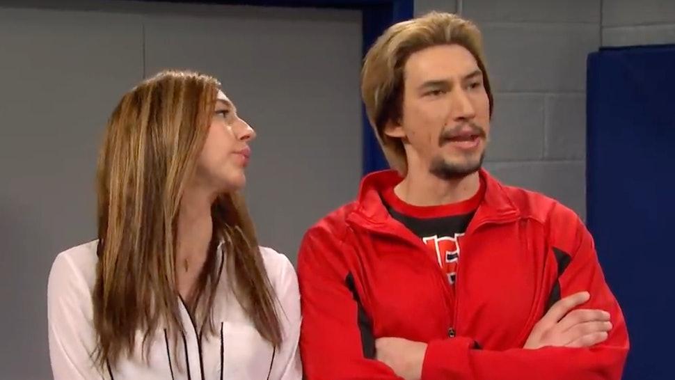Adam Driver's 'Cheer' Parody On 'SNL' Would Make Navarro Proud