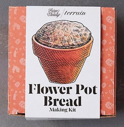 Flower Pot Bread Making Kit