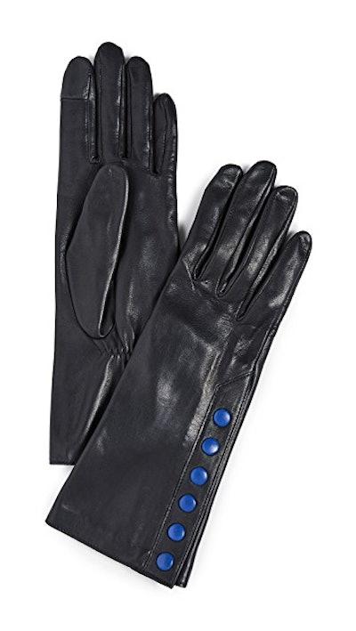Aileen Snap Detail Gloves
