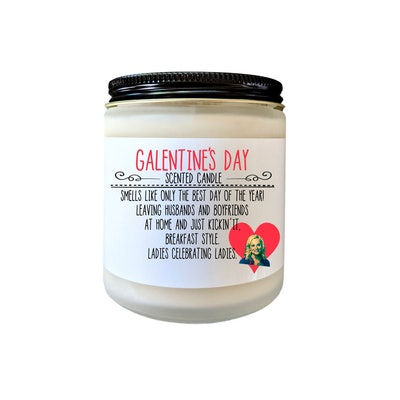 Galentines Day Gift Parks and Rec Gift Scented Candle