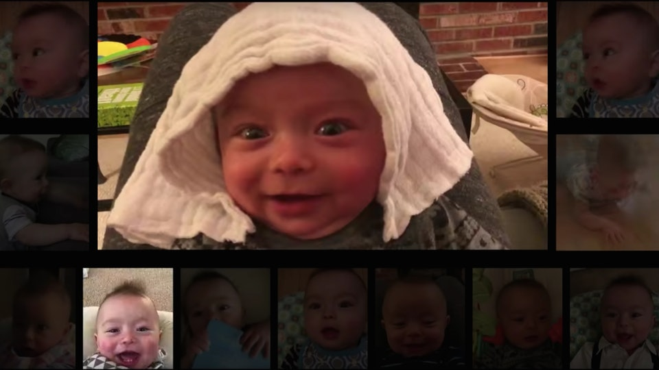 "Dad records baby for a year, uses coos to recreate ""Thunderstruck"" by AC/DC"