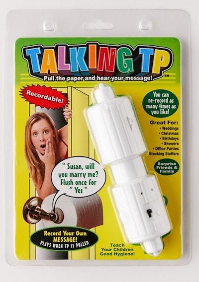 Talking Toilet Paper Roll Holder