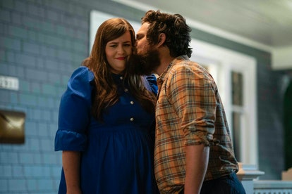 Aidy Bryant as Annie and Luka Jones as Ryan in Shrill Season 2