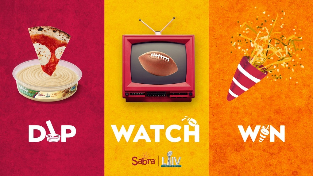 Sabra's Super Bowl 2020 Sweepstakes include $500,000 worth of prize money.