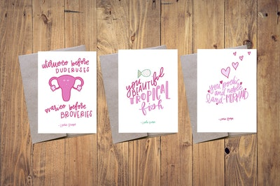 Galentine's Day Card Pack - First Edition - Leslie Knope Quotes