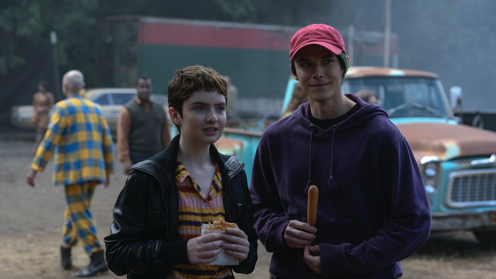 Theo and Robin at the carnival in CAOS Part 3.