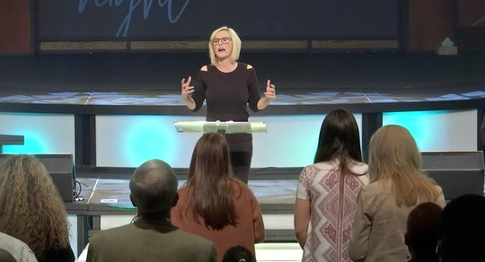 """Paula White, a controversial televangelist who serves as a Trump administration spiritual adviser has responded to backlash over a sermon she delivered in which she appeared to pray for """"all satanic pregnancies to miscarry."""""""