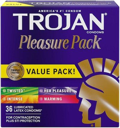 Trojan Pleasure Pack, 36 Count