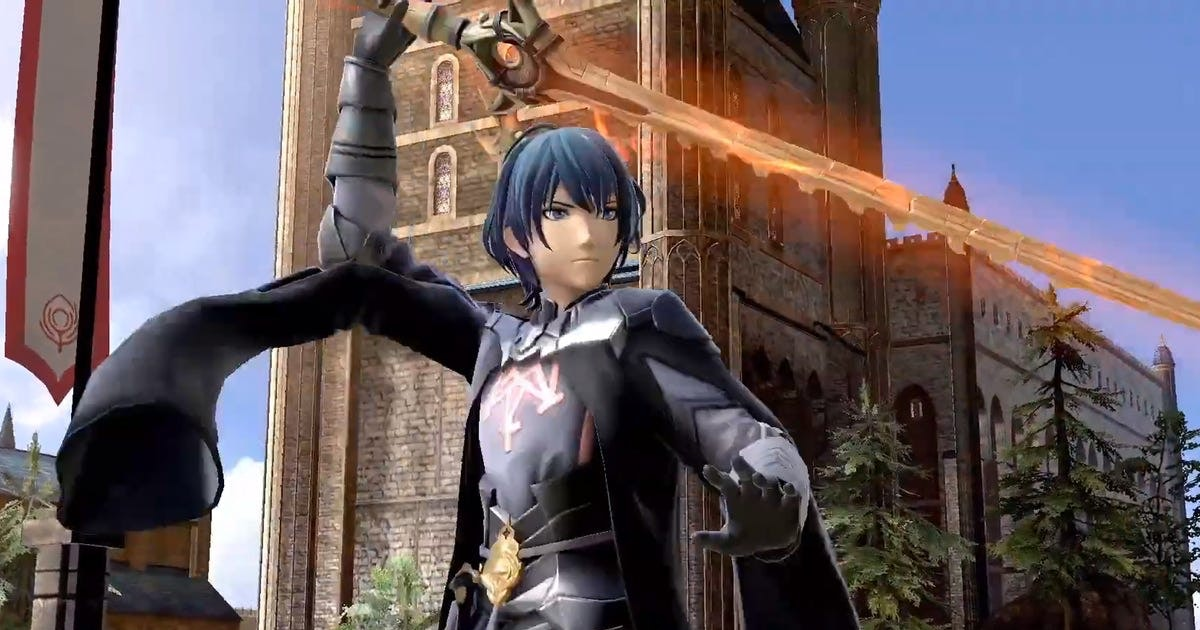Here's exactly when you can start playing as Byleth in 'Super Smash Bros. Ultimate'