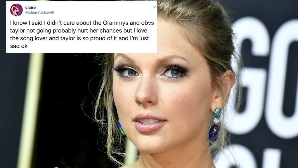 Taylor Swift was snubbed at the 2020 Grammys, losing all three of her categories.