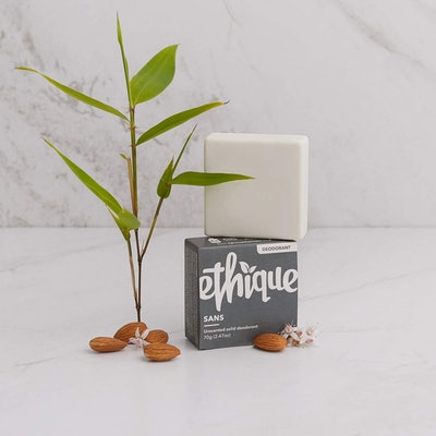 Ethique Eco-Friendly Unscented Deodorant Bar