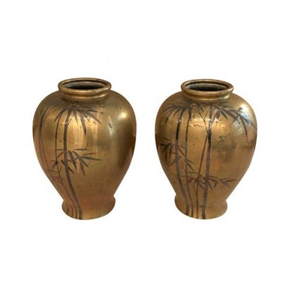 Japanese Bamboo Vases