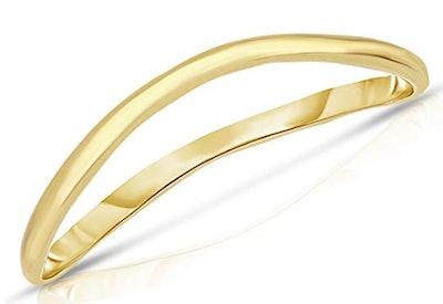 Floreo 10K Fine Gold Thumb Ring