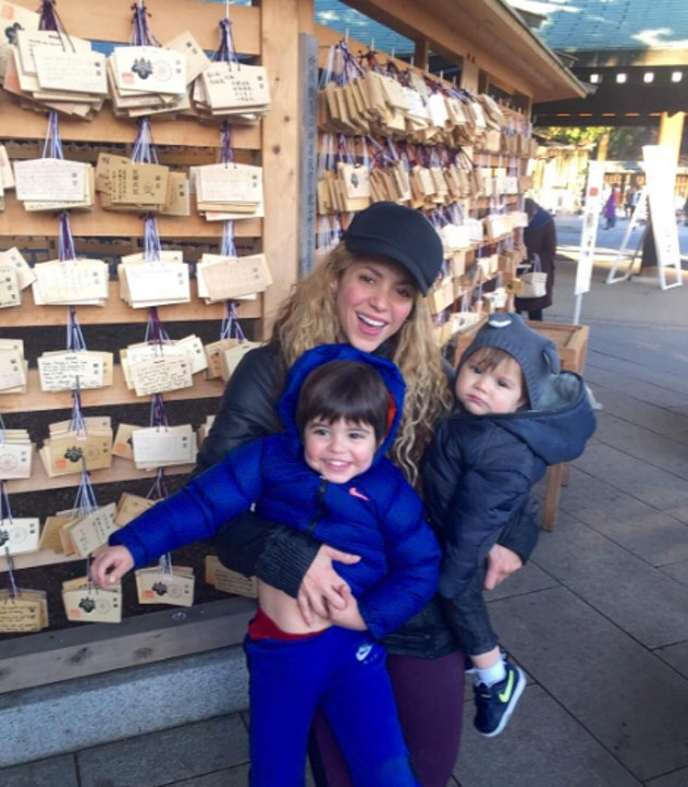 In 2012 Shakira made a wish... and apparently it came true with her two beautiful boys.