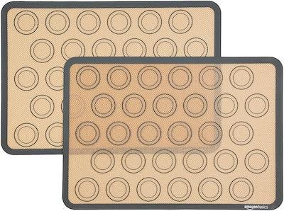 Amazon Basics Silicone Macaron Baking Mat