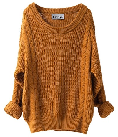 Liny Xin Women's Cashmere Oversized Sweater