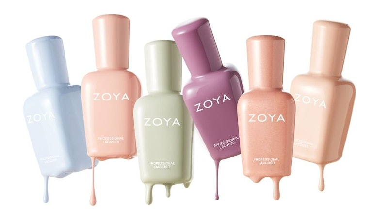 Zoya's new Calm collection features six pastels in dreamy creamy and subtly shimmer shades.