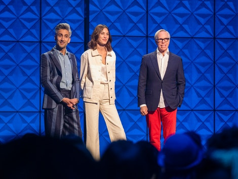 Tan France, Alexa Chung, and Tommy Hilfiger in Next in Fashion
