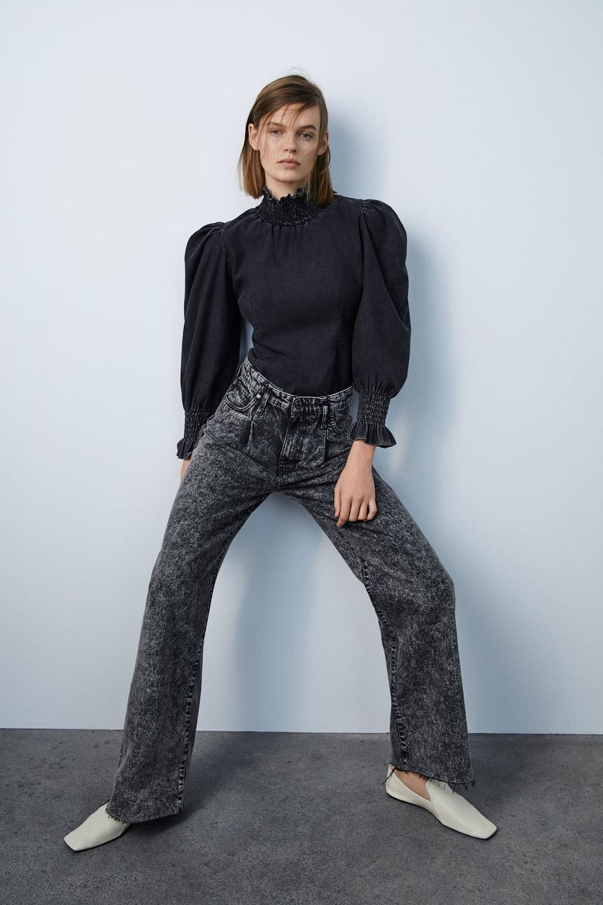 ZW Premium '80s Acid Wash Jeans