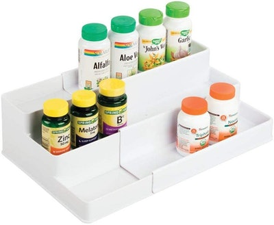 mDesign Expandable Organizer Tray