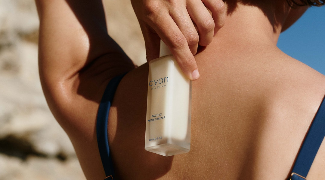 New skincare brand Cyan launched with two gender-neutral and very globe-conscious products.