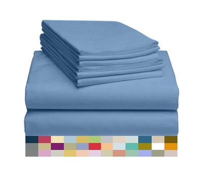 LuxClub Sheet Set Bamboo Sheets (6-Pieces)