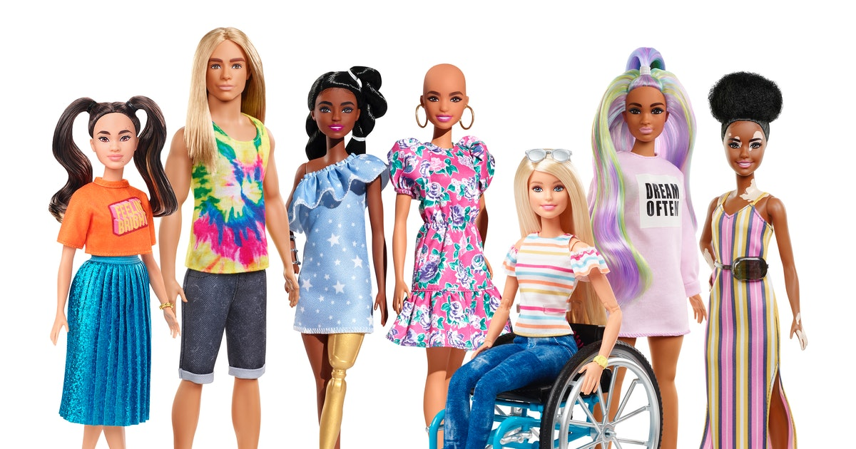 The New Inclusive Barbie Line Is The Most Diverse Ever & It's About Time