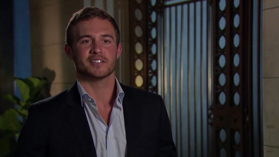 Peter on the Bachelor