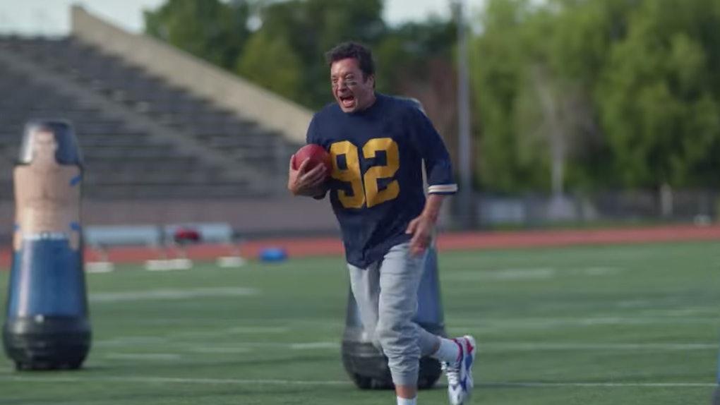 Jimym Fallon in Michelob Ultra's 2020 Super Bowl ad