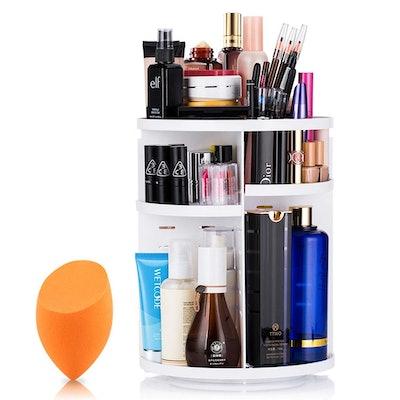 Mokaro 360 Degree Rotating Makeup Organizer