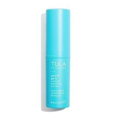 TULA Skincare Glow & Get It Cooling & Brightening Eye Balm